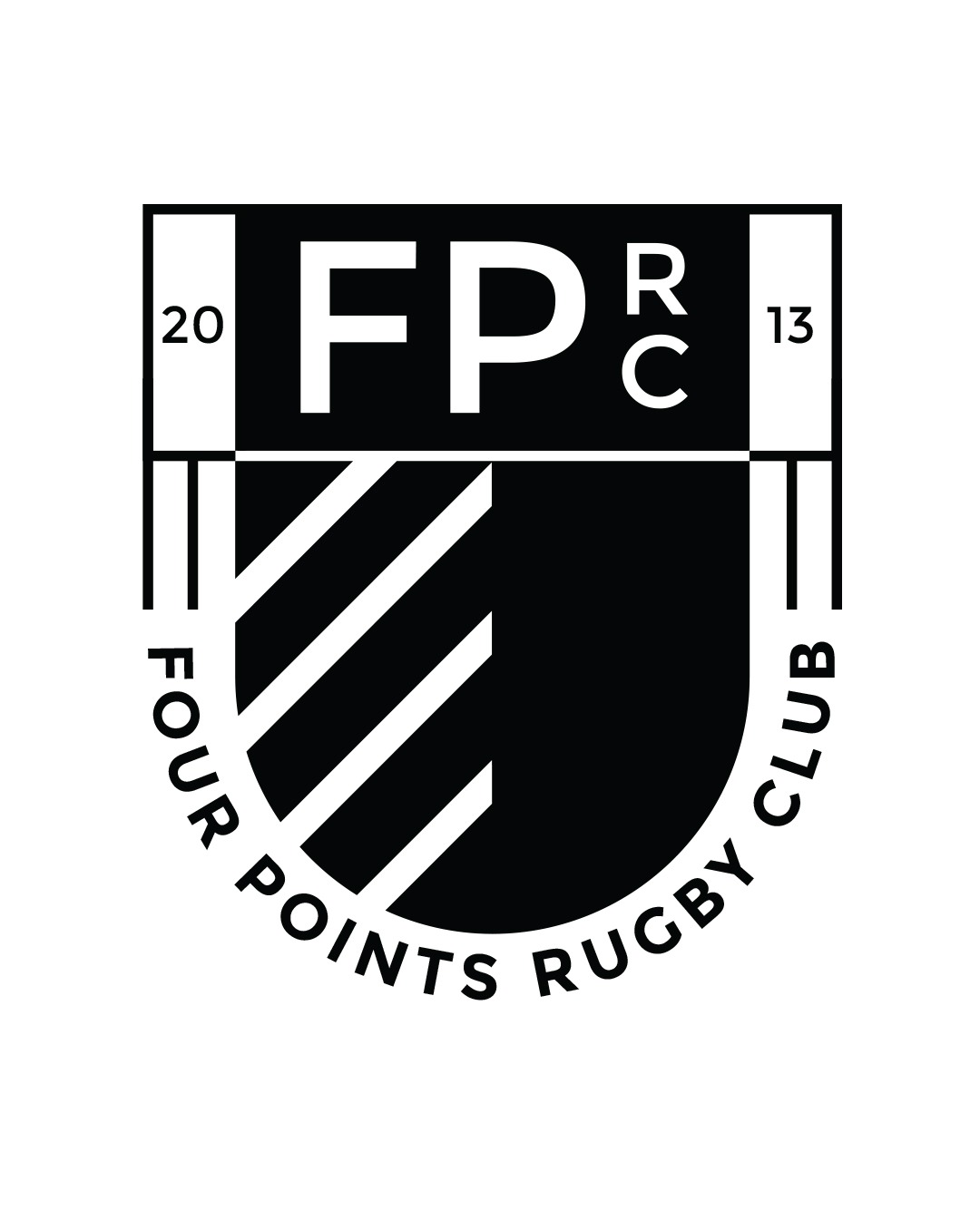 Logo design and Brand Development for Four Points Rugby - Mindset Creative Agency